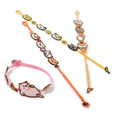 Neko Atsume Embroidery Bracelets