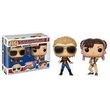 Pop! Games: Marvel vs. Capcom: Infinite - Captain Marvel vs Chun-Li
