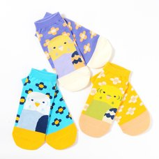 KOTORITACHI Budgerigar Printed Socks
