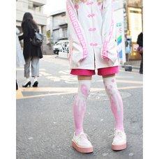 ACDC RAG Panda Knee-High Socks