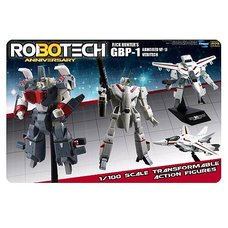 Robotech Heavy Armor 1/100 Rick Hunter Red GBP-1J