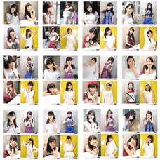 """Morning Musume. '15 """"Tsumetai Kaze to Kataomoi / Endless Sky / One and Only"""" Single CD Launch Event Solo Off Shot 4-Photo Set"""
