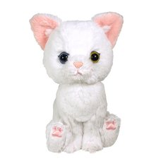 Kitten Plush: White Cat