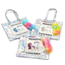 FLAPPER Missing Unicorn Tote Bag