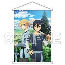 Sword Art Online: Alicization Kirito & Eugeo B2-Size Tapestry