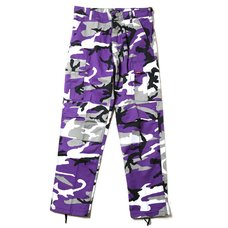 Radio Eva 622 NERV B.D.U. Purple Cargo Pants