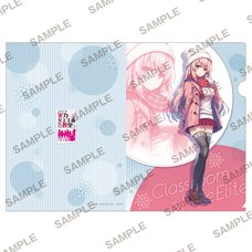 MF Bunko J Classroom of the Elite Winter A4 Clear File