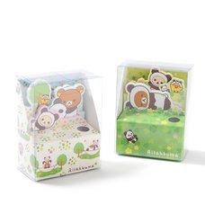 Rilakkuma Panda de Goron Memo Stand