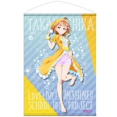 Love Live! Sunshine!! Chika Takami Pajamas Ver. B2-Size Wall Scroll