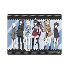 Silent Witches Suomas Iranko Chuutai Reboot! Rubber Play Mat Collection
