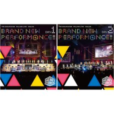 The Idolm@ster Million Live! 5th Live Brand New Perform@nce!!! Live Blu-ray (2-Disc Set)
