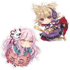 Touhou Project Creator's Keychain Charm Collection: Toutenkou Ver.