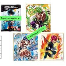 Dragon Ball Shikishi Art Vol. 8 Box Set