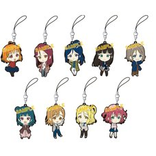 Love Live! Sunshine!! Rubber Strap Collection Box Set