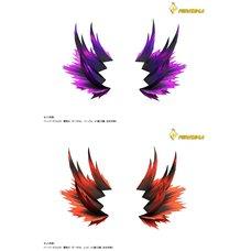 Pepatama Papercraft Fighting Spirit Effect Set A: Dark Ver.