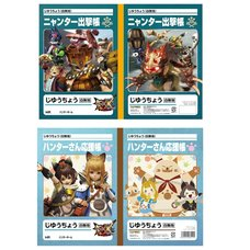 Monster Hunter XX Unruled Notebooks
