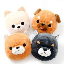 Mameshiba San Kyodai Dog Diecut Cushions