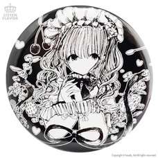 LISTEN FLAVOR x Fusedyyy Lolita Teatime Collab Pin Badge