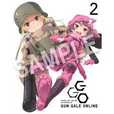 Sword Art Online Alternative: Gun Gale Online Blu-ray Vol. 2