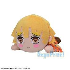 Mega Jumbo Lying Down Plush Demon Slayer: Kimetsu no Yaiba Zenitsu Agatsuma
