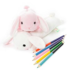 Pote Usa Loppy Rabbit Pen Pouches
