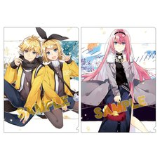 Vocaloid Clear File Collection: Hatsuko Ver.