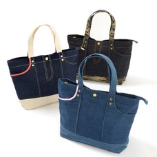FLAPPER Denim Pants Tote Bag
