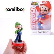 Super Mario Luigi amiibo w/ Free Mario amiibo