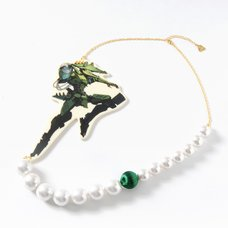 MONSTER DROPS Cyborg Mon Pearl Necklace