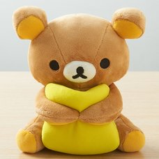 Rilakkuma Tabletop Plush with Cushion