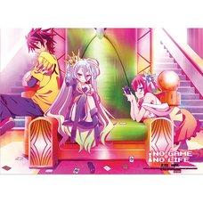 No Game No Life Throne Fabric Poster