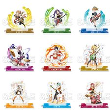 Sword Art Online: Memory Defrag Acrylic Figure Band Collection