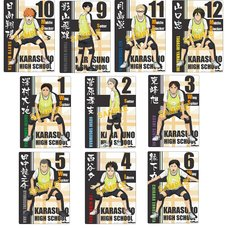 Haikyu!! Karasuno High vs Shiratorizawa Academy Mini Clear Poster Collection Box Set