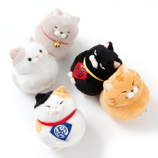 Hige Manjyu Maekake Cat Plush Collection (Standard)