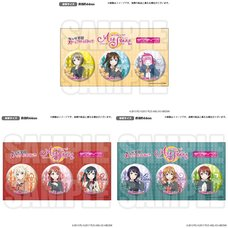 Love Live! Series Nijigasaki Academy School Idol Club All Stars Official Pin Badge Set