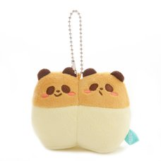 Chigiri Panda Twin Ball Chain Plush Collection