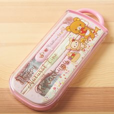 Rilakkuma Trio Utensil Set (Happy Natural Time)