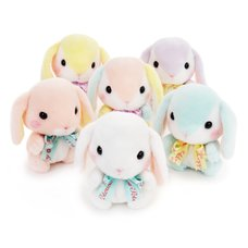 Pote Usa Loppy Pastel Rabbit Plush Collection (Standard)