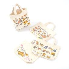 Neko Atsume Mini Tote Bags