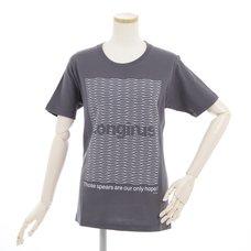 RADIO EVA 466 Gray Longinus Art T-Shirt
