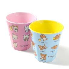 Rilakkuma Sonomama Rilakkkuma Cups