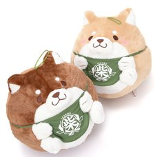 Chuken Mochi Shiba Manmaru Plushies (Big)