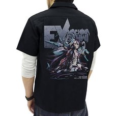 No Game No Life: Zero Schwi Full-Color Black Work Shirt