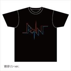 Hatsune Miku Summer Festival Logo Kagamine Rin T-Shirt