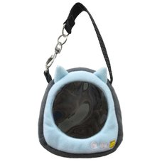 Neko-dango Osan-Pouch Light Blue Cat Carrying Case