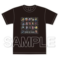 Sword Art Online Game Dot Full Color T-Shirt