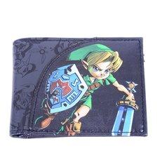 Nintendo Legend of Zelda: Majoras Mask Link Bi-Fold Wallet