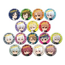 IDOLiSH 7 Mini Character Badge Collection Box Set