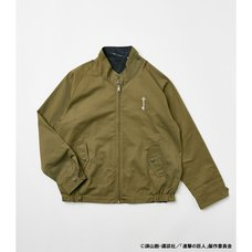 Attack on Titan R4G Swing Top Reversible Khaki Jacket