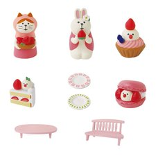 concombre Strawberry Sweets Festival Diorama Collection
